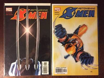Astonishing X-Men Vol. 3 Comic Book Lot   #'s 1 and 2, NM, Marvel
