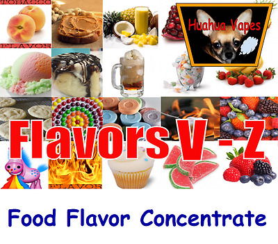 Food Grade Flavor Concentrate The Flavor Apprentice & Flavor West 250 Flavor V-Z