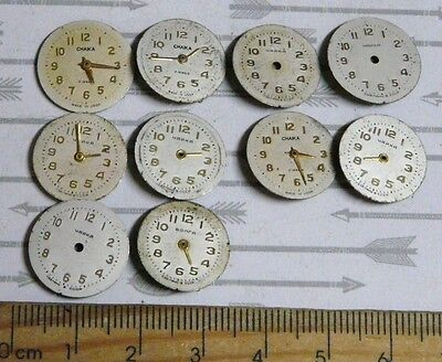 Steampunk Watch Parts Watch Faces Assorted 16mm Round  x10PC PK307