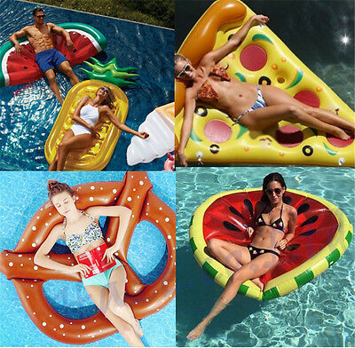 Lake Pool Float Gigantic Inflatable Float Beach Swimming Toy Blowup Floatie Raft