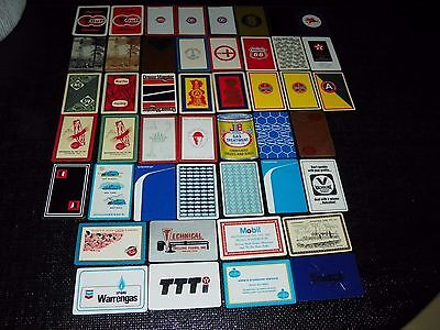 Gas  Oil Co. Drilling  Related  46  Single  Vintage Swap Trading Playing Cards