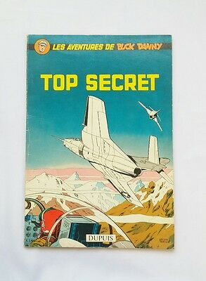 BD - Buck Danny Top secret 22 / EO 1960 / HUBINON & CHARLIER / DUPUIS