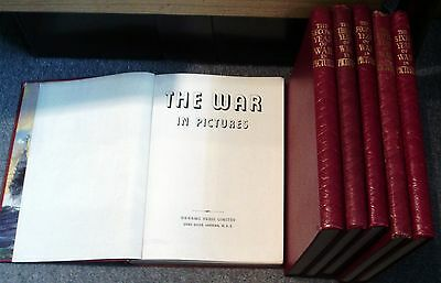 "Complete Set Of 6 Books, ""the First - Sixth Year Of War In Pictures"" + M Navy ++"