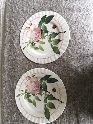 Pair Of Roy Kirkham Versailles Dinner Plates