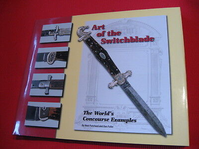 """""""Art of the Switchblade -The World's Concourse Examples"""" Vintage Auto Knife Book"""