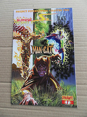 Project Superpowers 7. Burning Eagle / B. Owl / Man-Cat - Dynamite 2009 - FN /VF