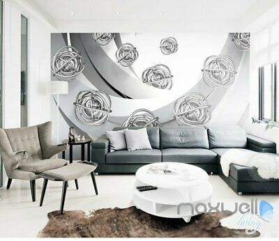3D Spinner 5D Wall Paper Mural Art Print Decals Business Living Room Decor
