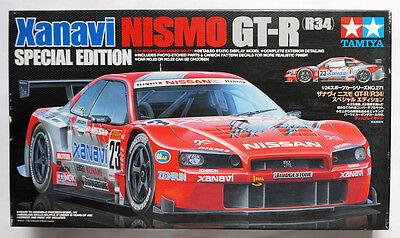 "TAMIYA #24271 1/24 Xanavi Nisomo GT-R (R34) ""Special Edition"" scale model kit"