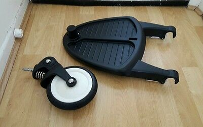 Genuine bugaboo bee wheeled board with adapters