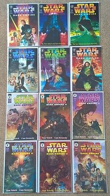 Star Wars Dark Empire 1 and 2 1-6 complete full sets 1991
