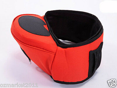 Red Security Multi-Purpose Infant Lumbar Stool Baby Essentials/baby Bag !@&