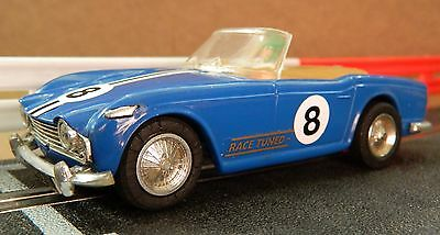 Scalextric Vintage Triumph Tr4 In Excellent Boxed Condition (C84)