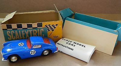 Scalextric Vintage Ferrari Berlineta 250 With Lights In Boxed Condition (E/4)