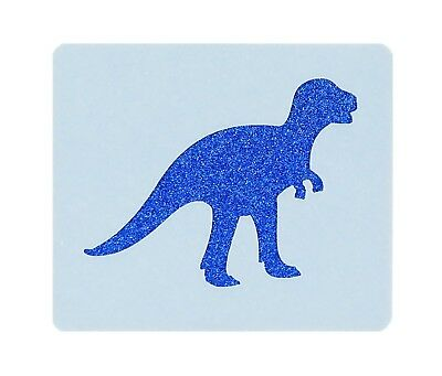 Dinosaur Face Painting Stencil 7cm x 6cm 190micron Washable Reusable Mylar