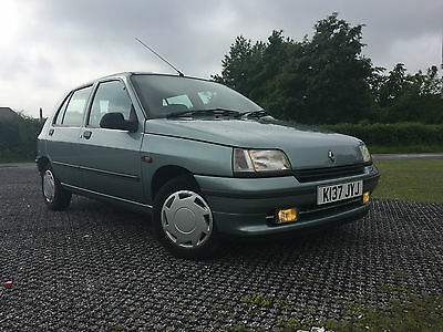 Stunning 1992 Mk1 Renault Clio 1.4 RT Manual One Previous Owner 52000 miles