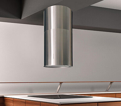 Island Cylinder Extractor Hood - Air Force F60,  Elica Group