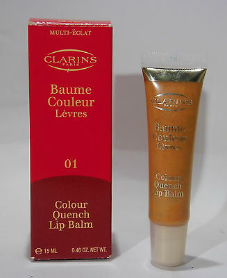 Clarins Colour Quench Lip Balm 01 Pink Marshmallow , 15 ml