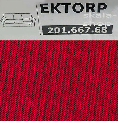ikea ektorp bezug 3er sofa idemo rot neu ovp. Black Bedroom Furniture Sets. Home Design Ideas