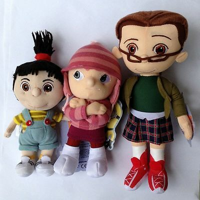 3X Despicable Me Orphan Girls Plush Toy Margo Edith Agnes Doll Stuffed Animal