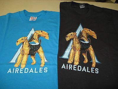 Airedale Terrier Tee Shirt - Brand New - Choose your size and color!