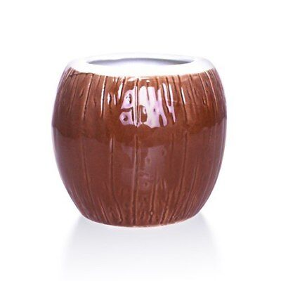 "Ceramic ""Coconut"" Tiki Mug (473ml / 16oz)"