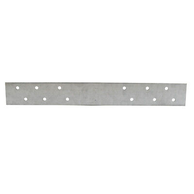 "Pack 50, 1-1/2"" x 18"" Galvanized Steel Standard F.H.A. Strap with 6 Offset Holes"
