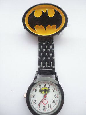 Batman Nurse Watch Picture Dial Black Watch Student Nurse Midwife Carer Helper