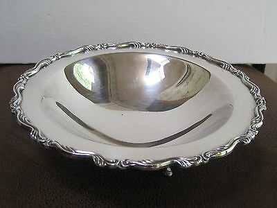 """Oneida William A Rogers Footed Candy Nut Bowl 7.5"""""""