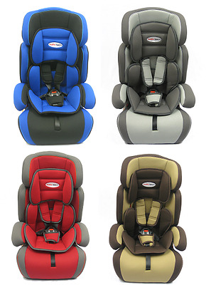 Child Baby Car Seat Safety Booster For Group 1/2/3 9-36 kg 4 COLOURS
