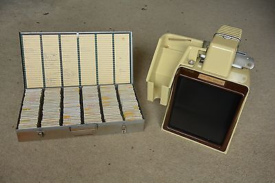 Vintage (1950s) table top Photograph Slide Viewer (35mm)