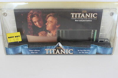 Titanic 70MM Collector Film Cels Rose & Jack Edition One of a Kind NIP #14967