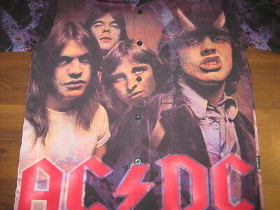 AC/DC ACDC Highway To Hell BUNDLE: Dragonfly Shirt Coffee Cup Lanyard Medium