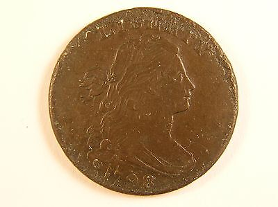 1798 1C Draped Bust Cent