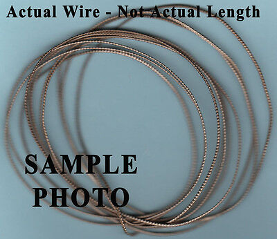 .925 Sterling Silver Wire 18 gauge 1/2 Beaded 6.9 grams Free Shipping