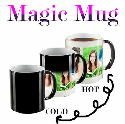 Personalised Heat Colour Changing Magic Mug - Great Gift - Photo Mug 4