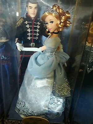 Cinderella and Prince Disney Fairytale Designer Limited doll
