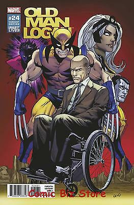 Old Man Logan #24 (2017) 1St Printing Scarce 1:10 Land Past Lives Variant Cover