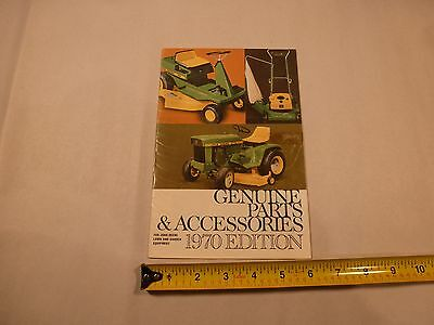 1970 John Deere Lawn and Garden Parts and Accessories Catalog