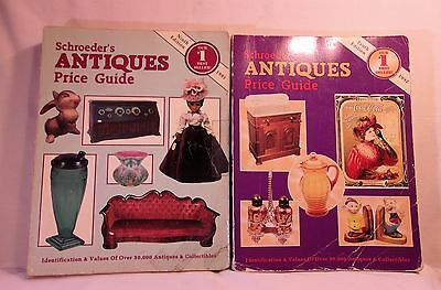 Schroeder's Antiques Price Guide (9th Edition 1991 and 10th Edition 1992)