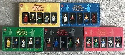 LEGO Vintage Minifigure Collection Volume 1 2 3 4 5 - Complete Set - Rare