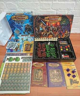 Dungeons & Dragons + Eternal Winter Expansion Pack Fantasy Adventure Board Game