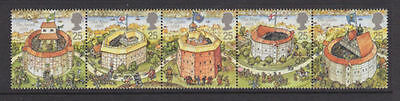 Sg1882-1886 1995 Shakespeare's Globe Theatre ~ Unmounted Mint Gb