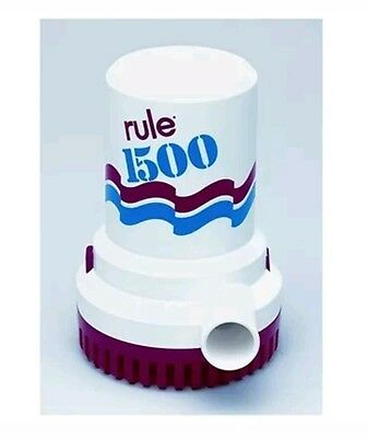 Rule Non-Automatic Bilge Pumps 1500 GPH 12 Volt - 02   (582456)
