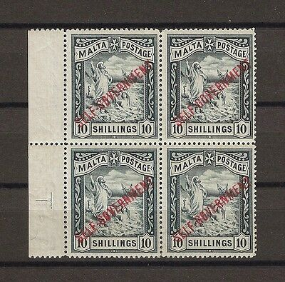 MALTA 1922 SG105 MNH/MINT Cat £1000