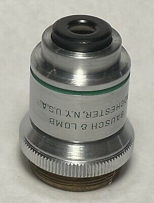 Bausch & Lomb 16mm 0.25 N.A. 10X Microscope Objective