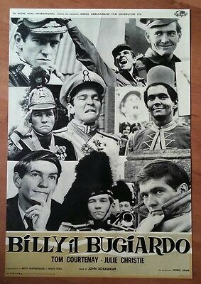 Original, Vintage, Italian BILLY LIAR Film Poster