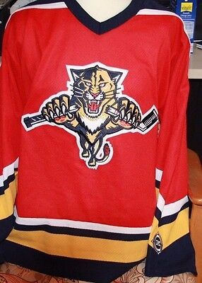 Authentic Replica NHL JERSEY FLORIDA PANTHERS LARGE KOHO STUNNING CONDITION