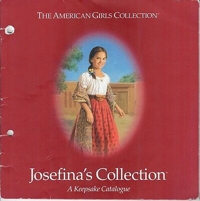 2000 Retired Josefina Pleasant Company Catalog~American Girl~Keepsake Collection