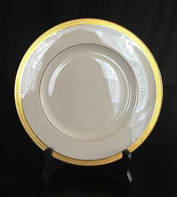 Lenox Lowell P-67 Ivory With  Gold Encrusted Dinner Plate