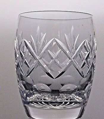 Royal Doulton Crystal Georgian Cut Glass Barrel Tumbler